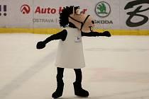 Maskot Axel. Bílý kůň s černou hlavou, symbol Ostravy i nadcházejícího mistrovství Evropy krasobruslařů, dostal jméno po nejobtížnějším skoku.
