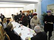 Druhé kolo prezidentských voleb v Ostravě