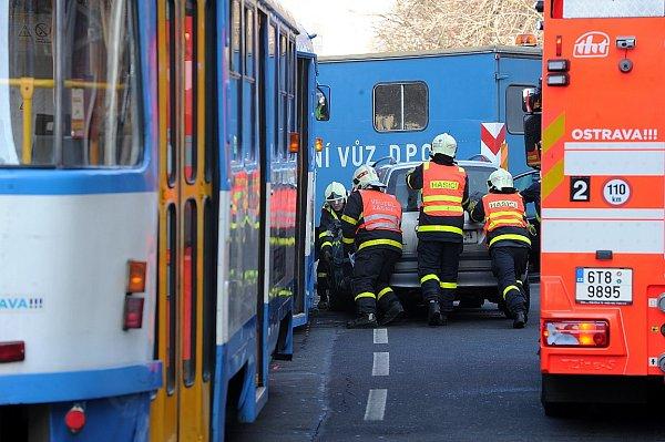 Středeční nehoda vcentru Ostravy