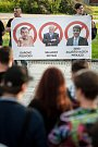 Proč? Proto! Demonstrace namířená proti předsedovi hnutí ANO Andreji Babišovi, prezidentovi Miloši Zemanovi a na podporu dodržování ústavy v Ostravě.