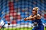 Atletický mítink IAAF World Challenge Zlatá tretra v Ostravě 20. června 2019. Na snímku Joanna Fiodorow z (POL).