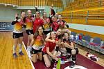 Ostravské volejbalistky se radují. Dvakrát porazily lotyšský tým Volejbola Skola Riga v jeho hale a postoupily do další fáze evropského Challenge Cupu. V něm je čeká maďarský Kaposvár.
