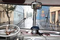 Jízda historickým autobusem po Ostravě.