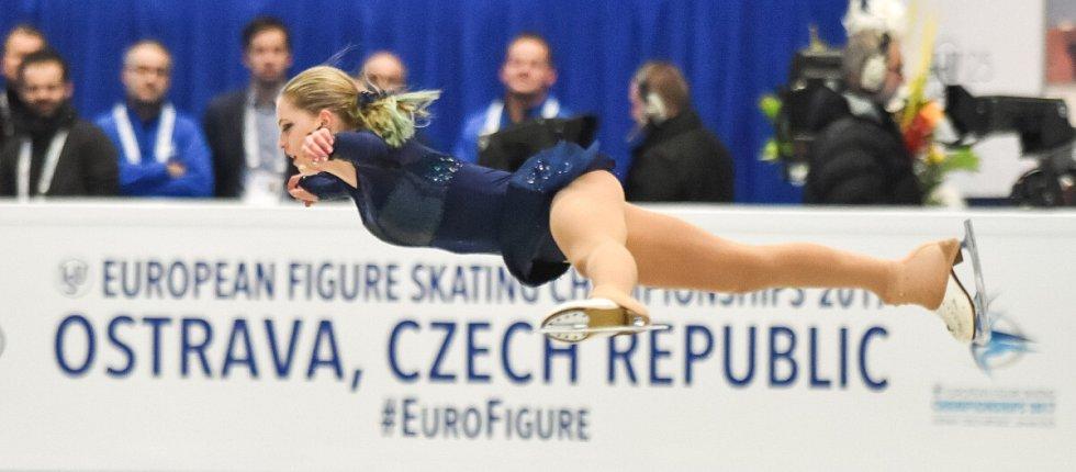 Mistrovství Evropy - volné jízdy žen.