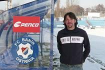 Kondiční trenér fotbalistů Baníku Ostrava italský fyziolog Paolo Terziotti.