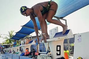 Olympiáda v Tokiu je stále můj cíl, hlásí z Austrálie elitní plavkyně Barbora Závadová. Foto: archiv Barbory Závadové