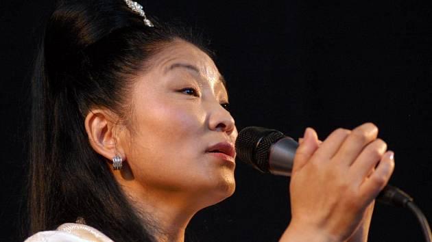 Tibetská zpěvačk Lhamo
