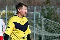 Marek Heinz je stále aktivní. Aktuálně hraje za Všechovice na Přerovsku.