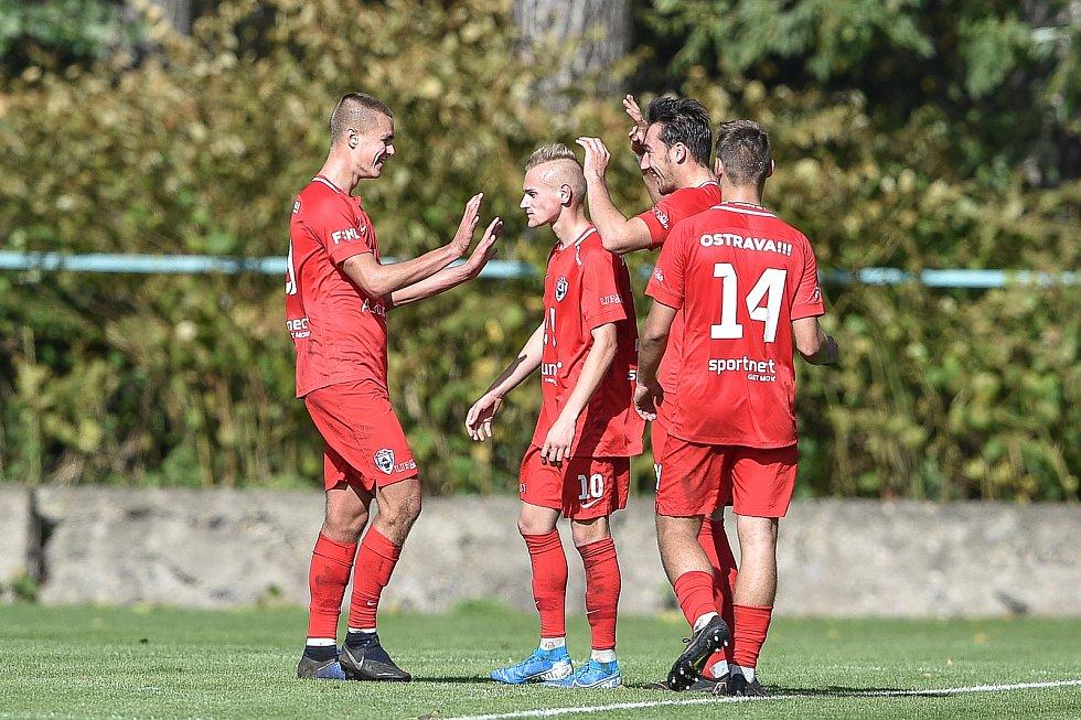 Přípravné utkáním FC Baník Ostrava - MFK Vítkovice, 11. října 2019 v Ostravě.