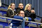 Utkání 51. kola hokejové extraligy: HC Vítkovice Ridera - HC Energie Karlovy Vary, 3. března 2020 v Ostravě. Fanoušek Vítkovic.
