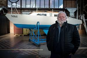 Loď Nike od Richarda Konkolského v Malém světě techniky U6, 13. ledna 2020 v Ostravě.