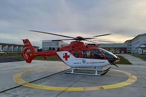 SLOVENSKÝ VRTULNÍK. V Moravskoslezském kraji už létá Eurocopter EC 135 T2+