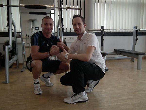Útočník ostravského Baníku Václav Svěrkoš, který se koncem listopadu podruhé podrobil operaci křížového vazu vkoleni, nyní rehabilituje vSchalke.