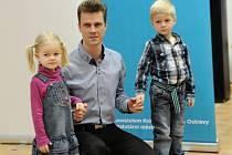 Aleš Bohanus se svými dětmi.