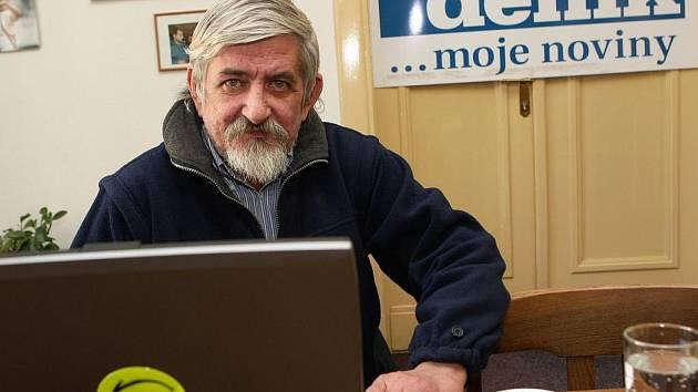Epidemiolog Josef Matuška během on-line rozhovoru se čtenáři Moravskoslezského deníku.