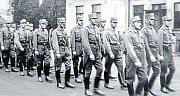 Když v říjnu 1938 obsadilo Německo i obce v okolí Ostravy, zastrašovali henleinovci svými pochody české obyvatelstvo.
