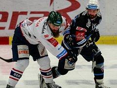 Hokejisté Vítkovic se podruhé utkali s Plzní.
