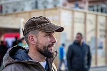 Primátor Ostravy Tomáš Macura na Masarykově náměstí v Ostravě, sobota 16. listopadu 2019.