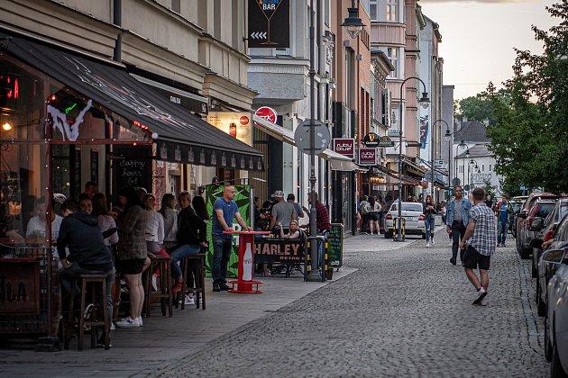 Stodolní ulice vOstravě, 11.června 2021.