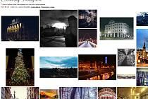Snímky Ostravy na internetu.