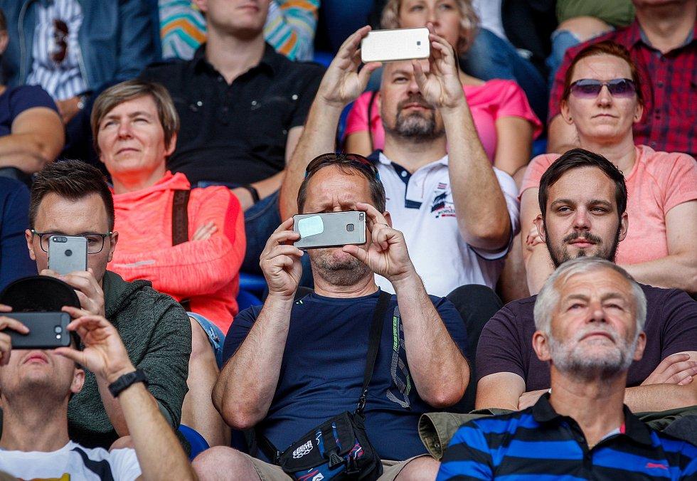 Kontinentální pohár 2018 v Ostravě.