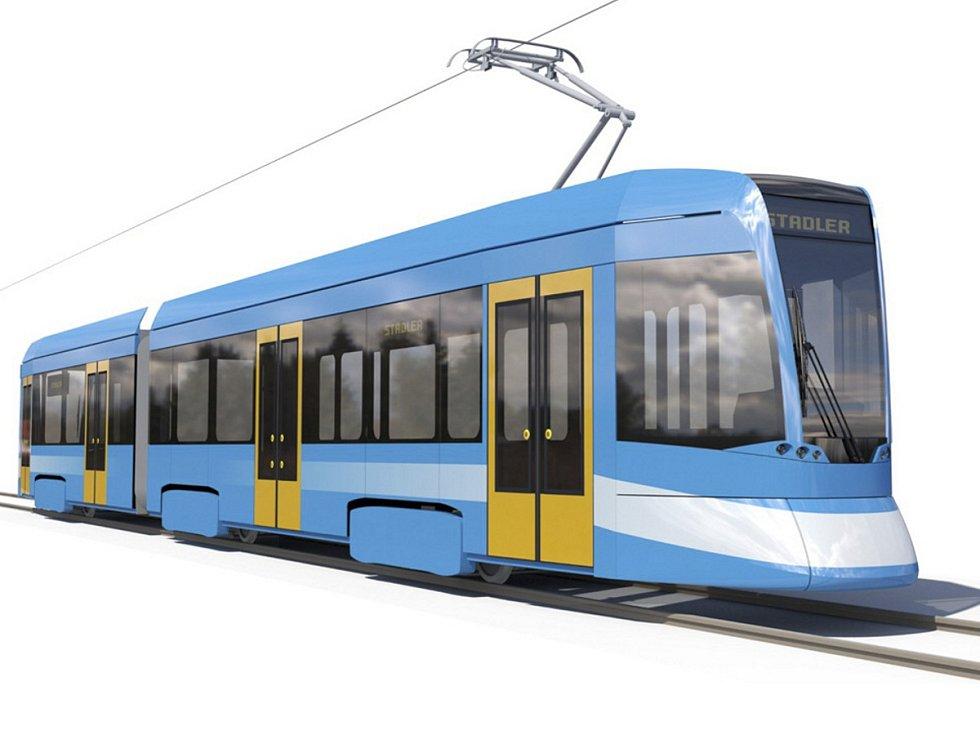 TANGO NF2 OSTRAVA je pracovní název nových tramvají, jejichž upravený design stále není finální a ještě se bude ladit.
