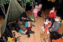 Období Halloweenu a Dušiček zpestřil dětem všech věkových kategorií poslední říjnové sobotní odpoledne Dům kultury Akord v Ostravě-Zábřehu.