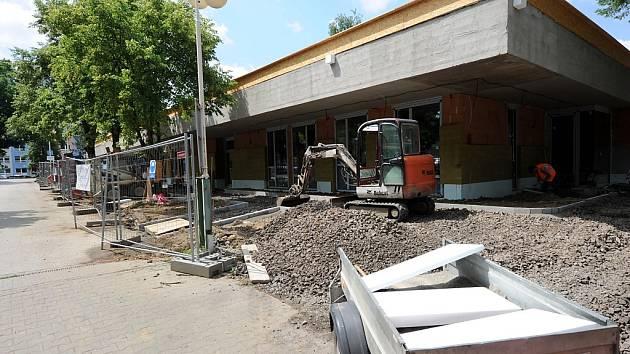 Výstavba denního stacionáře.