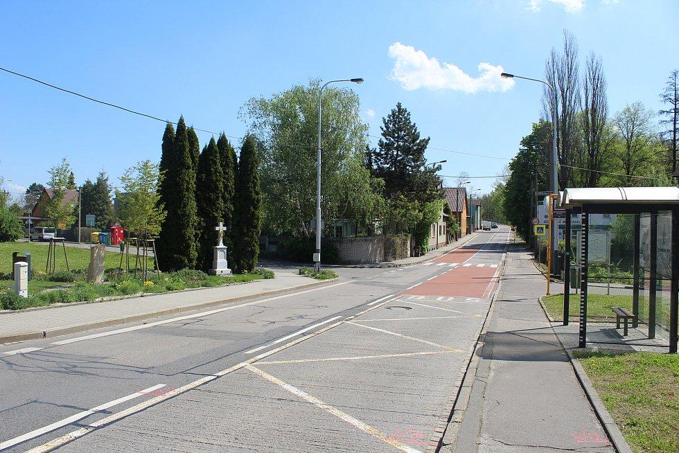 Oblast podchodu mezi ulicemi Fričovou a U Boříka pod ulicí 28. října, která je jedním ze dvou hlavních dělících koridorů v Nové Vsi.