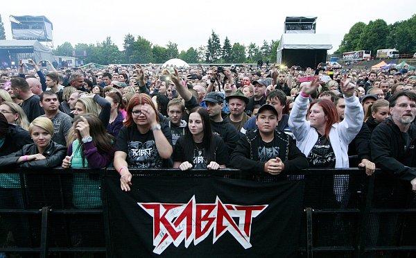 Populární rocková skupina Kabát zavítala vrámci Open Air Turné 2015také do Ostravy.