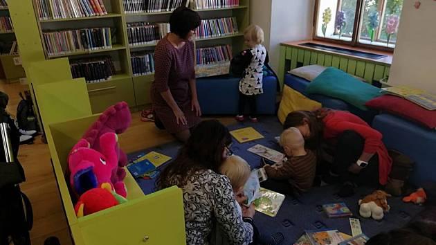Čtenáři do šesti let bezplatně. Knihovna otevře své brány nejmenším d47cdf1e8a