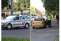 Snímek z místa nehody zveřejněný v úterý odpoledne na sociální síti Facebook ve skupině Kde stojí švestky - Ostrava