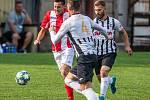 Fotbal, Slovan Ostrava - Malé Hoštice, 24. srpna 2019 v Ostravě.