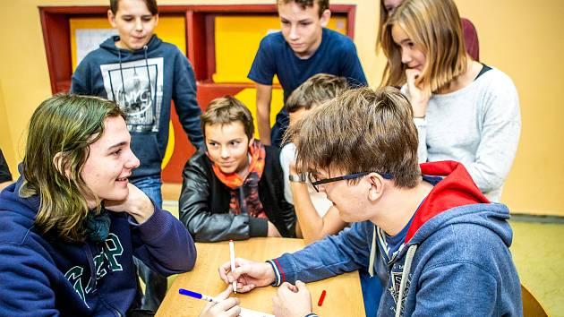 Oblastní turnaj soutěže pišqworky se uskutečnil na Gymnáziu v Ostravě- Zábřehu, Volgogradská 6a, 4. listopadu 2019 v Ostravě.