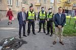 V pátek 18. září se v ranních hodinách uskutečnila více než dvouhodinová kontrola nájemních bytů na ulicích Olešní, Zemanská a Boční ve Slezské Ostravě.