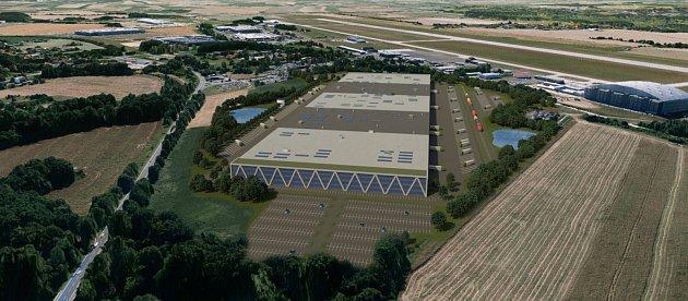Panattoni Parku Ostrava Airport. Studie.