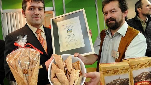 Na ostravské výstaviště Černá louka v pátek přijeli zástupci šesti potravinářských firem, které získaly ocenění Regionální potravina.