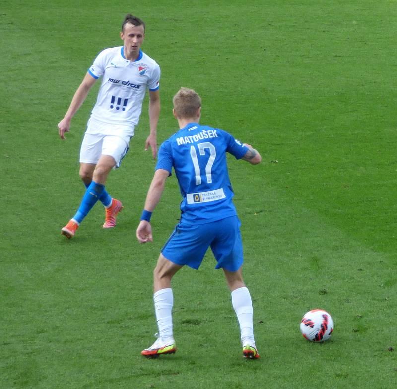 Fotbalisté Baníku Ostrava v neděli hráli v Liberci.