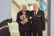 Korunovační svatba - výročí 75 let od svatby. Manželé František a Jarmila Galasovi