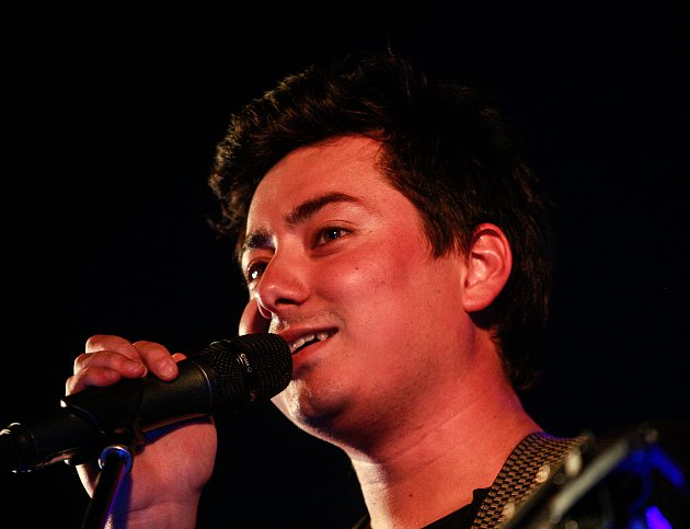 Mirai Navrátil, frontman kapely Mirai.