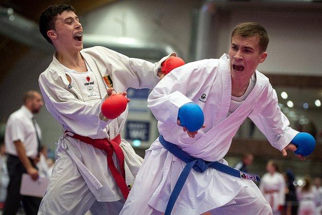 Karate Grand Prix Ostrava, 3. listopadu 2018 v Ostravě.
