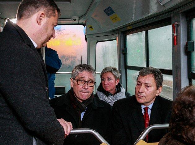 Návštěva nového ministra průmyslu Tomáše Hünera v Moravskoslezském kraji.