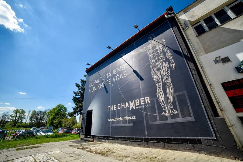 Úniková hra The Chamber v Ostravě.