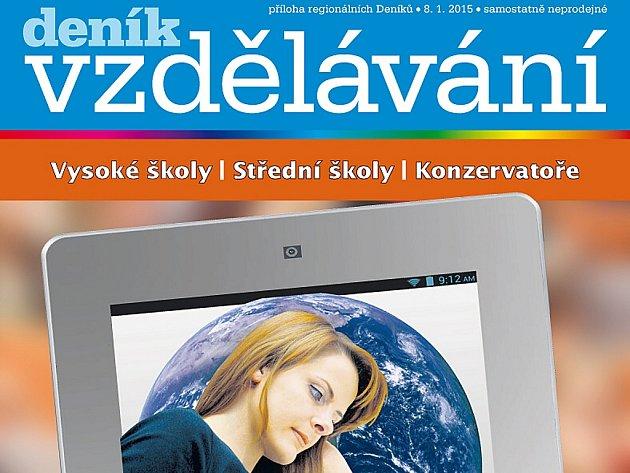 Tištěná příloha Deníků Moravskoslezského kraje Vzdělávání.