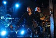 Kapela Limetal zahrála v Ostravě ve starých koupelnách v DOV další z koncertů svého podzimního turné.