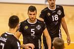 Utkání 6. kola volejbalové extraligy mužů: Beskydy - Příbram.