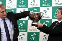 Losování Davis Cupu.