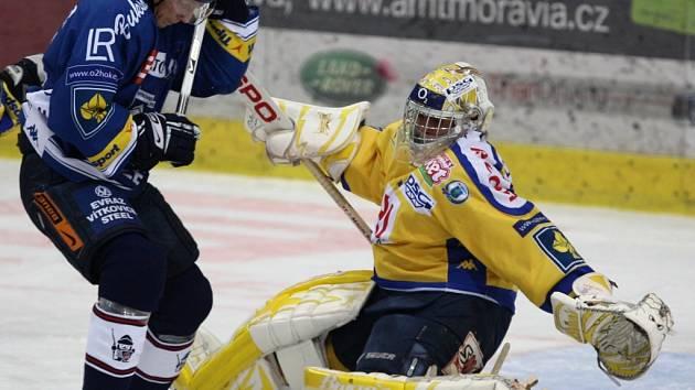 V dohrávce 43. kola hokejové extraligy hostí vítkovičtí hokejisté Zlín. Nic jiného než vítězství chtít nemohou.