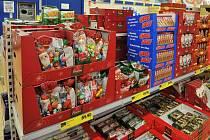 Aktuální vánoční nabídka v ostravských obchodech. Ilustrační foto
