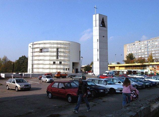 Nový kostel v Ostravě-Zábřehu